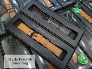 Dây da Ticwatch Smart WatchStrape 22mm (chính hãng)